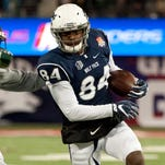 Wolf Pack receiver Jerico Richardson is one of 15 returning starters for Nevada.