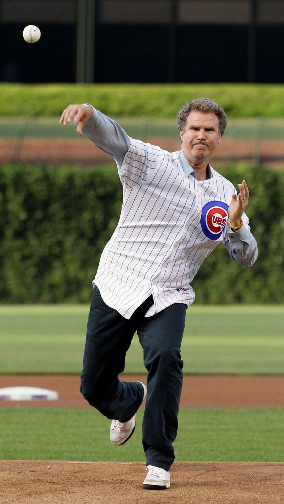 Comedian Will Ferrell will play for the Reds against