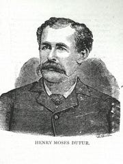 Henry Moses Durfur, was a well-known wrestler from Franklin County in the 1850s. He had a string of 127 consecutive victories.
