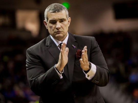 USC coach Frank Martin
