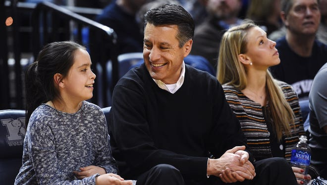Nevada Governor Brian Sandoval is a regular at Lawlor Events Center, but even his salary is no match for Eric Musselman's new compensation.