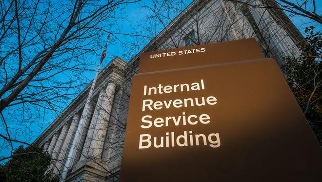 The Washington, D.C., headquarters of the IRS.