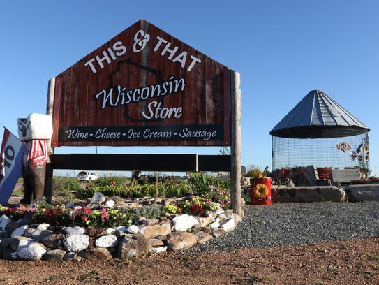 The This & That Wisconsin Store in Stratford, August