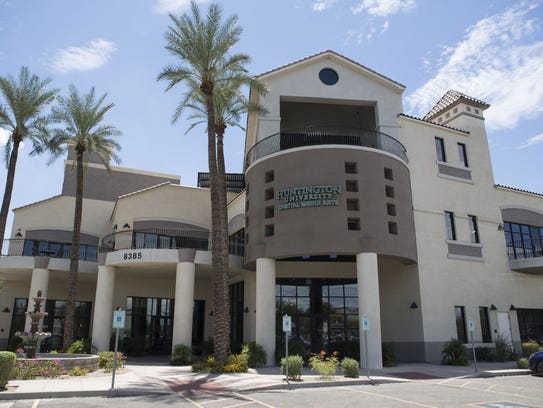 The outside of the Huntington University Arizona Center