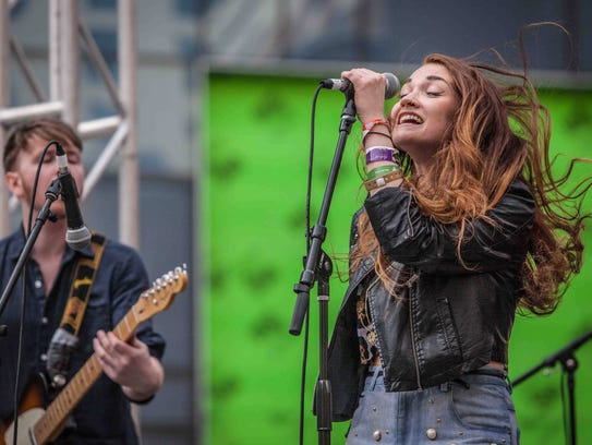 Misterwives performs at The Naked Grape Wines Presents