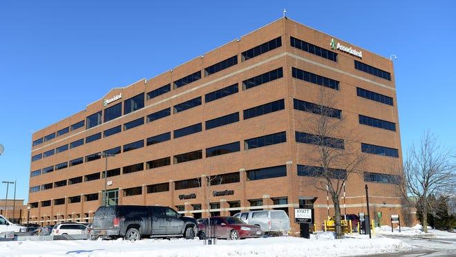 Associated Bank headquarters building.