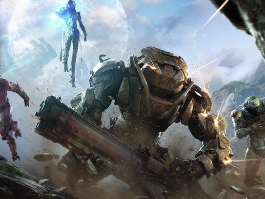 Take to the (not so) friendly skies in Anthem, a futuristic