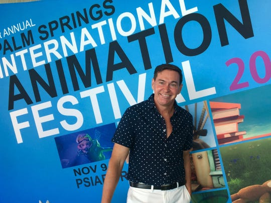 Brian Neil Hoff appears at the 2017 Palm Springs International Animation Festival