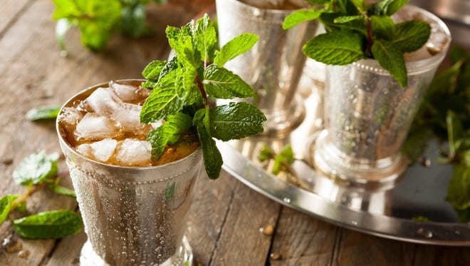 The mint julep is the traditional drink of the Kentucky Derby.