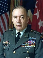 General Richard Edward Cavazos.