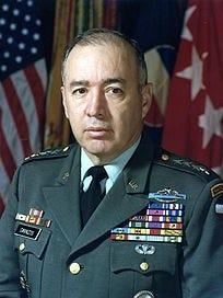 General Richard Edward Cavazos.