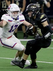 Pleasant Grove's Ben Harmon avoids Graham's Will Hays