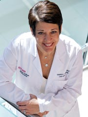 Dr. Deborah L. Toppmeyer, MD, chief medical officer of the Rutgers Cancer Institute of New Jersey, in New Brunswick.