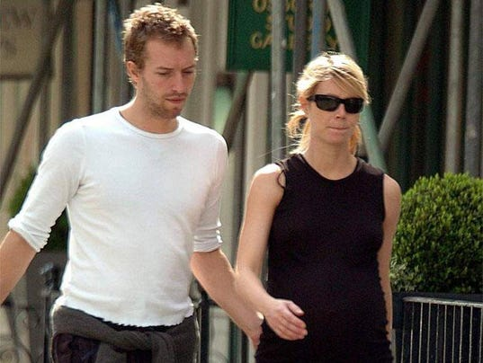 Chris Martin and Gwyneth Paltrow