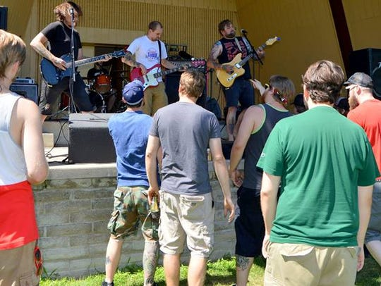 Wrath of the Girth performs at the first Jam'n'July