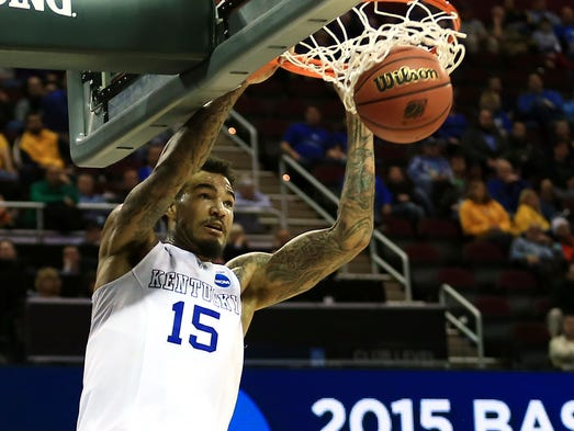 Kentucky Wildcats forward Willie Cauley-Stein (9.3