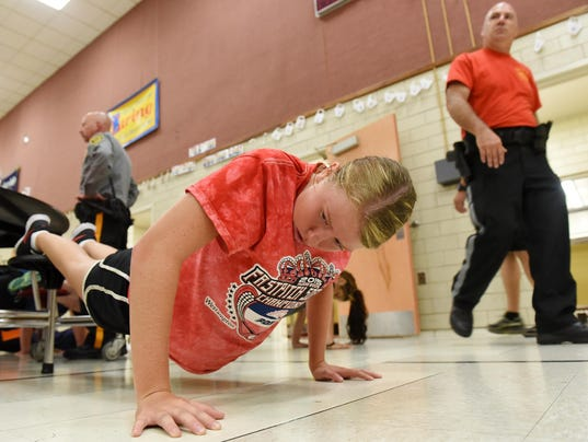The first day of Cumberland County Police Youth Week was held at Holly ...