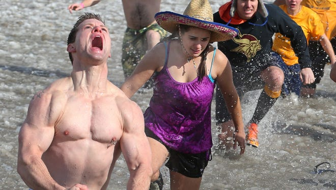 The 35th annual Lakeside Winter Celebration, including the polar plunge, happens Saturday and Sunday, Feb. 9 and 10 at the Port of Rochester Terminal Building and the adjacent Ontario Beach Park.