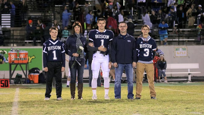 From left to right: Levi Torgerson, Tammy Torgerson, Kody Torgerson, Brion Torgerson and Kyle Torgerson.