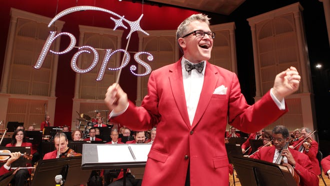 Conductor John Morris Russell will lead the Cincinnati Pops during its 2018-19 season.