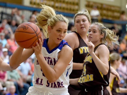Nora Klick of Great Falls High was a two-time Tribune Super-State selection who played in the Montana-Wyoming All-Star Series following her senior season. Her college career was cut short by injury, but Klick is back in the game as an assistant basketball coach for the Great Falls Central girls' program.