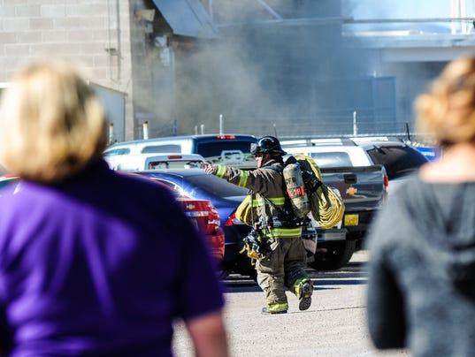 Olam Factory fire 1
