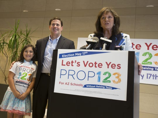 Proposition 123: Ducey brought education leaders and