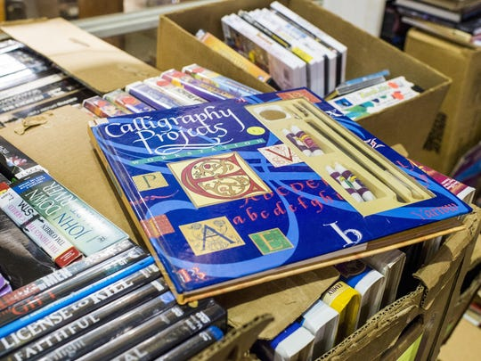 How-to books with necessary supplies are just one thing you can find at the semi-annual Friends of the Lafayette Library Book Sale.