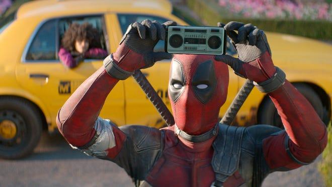 "Ryan Reynolds in ""Deadpool 2."""