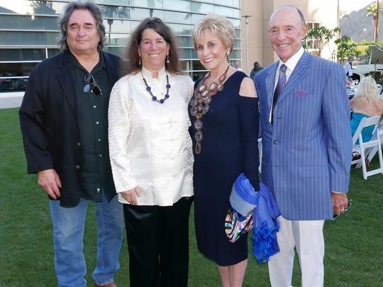 l-r  Tim Townsley, Arlene Rosenthal, Barbara Keller and Jerry Keller