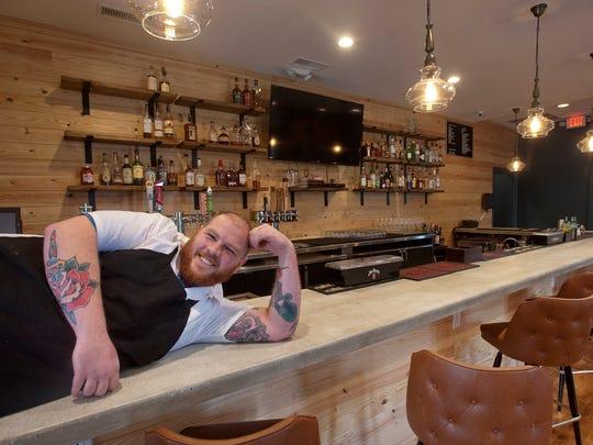 Couvillion Restaurant owner-chef Paul Skulas strikes