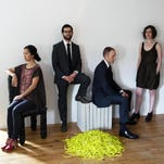 Yarn|Wire — which includes, from left, Ning Yu, Russell Greenberg, Ian Antonio and Laura Barger — will perform Friday at Binghamton University.