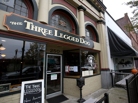 The Three Legged Dog Public House is in Independence.