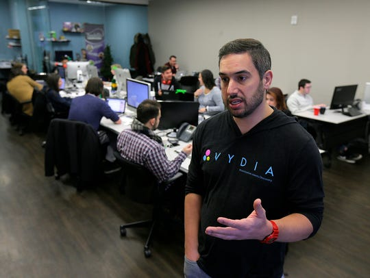 Roy LaManna, owner of Vydia, talks about his Holmdel