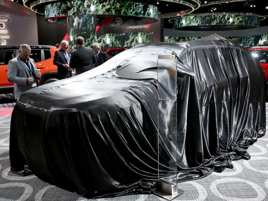 The 2019 Jeep Cherokee is covered before the reveal