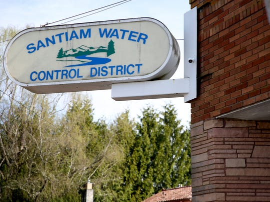 The Santiam Water Control District in Stayton on Friday,