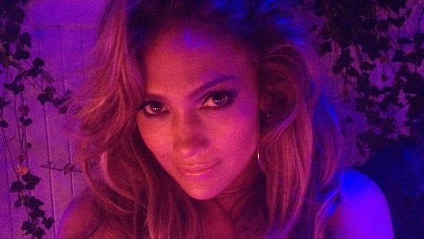 Jennifer Lopez shares photo on her 45th birthday.