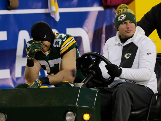 Green Bay Packers wide receiver Jordy Nelson (87) is