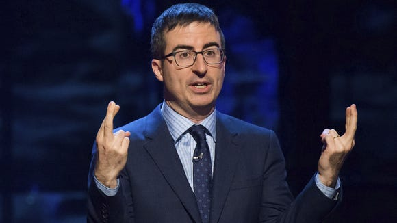 John Oliver took the Jimmy Kimmel approach when he