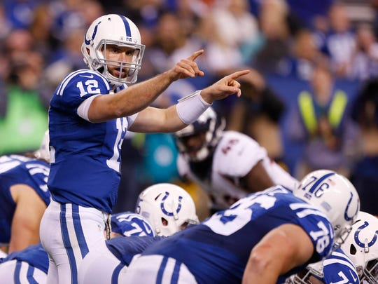 Andrew Luck is the quarterback of the Indianapolis Colts.
