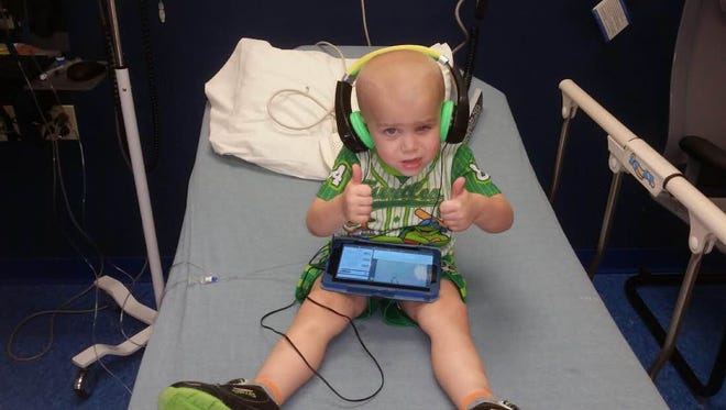 Jacob Barker was diagnosed with advanced retinoblastoma in September 2014. A music festival in his honor this month will raise money for St. Jude Children's Research Hospital.