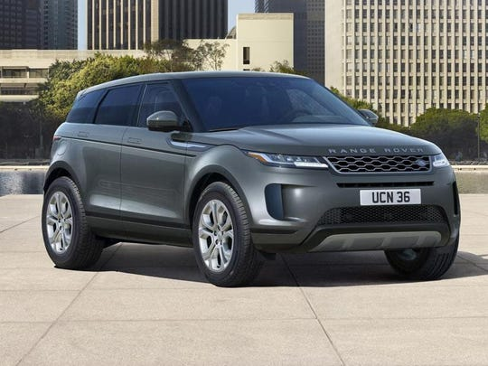 The Evoque's overall footprint, the S P250 model is