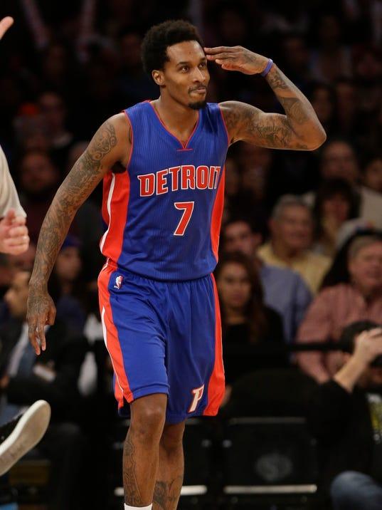 Detroit Pistons' Brandon Jennings available, but did not ...