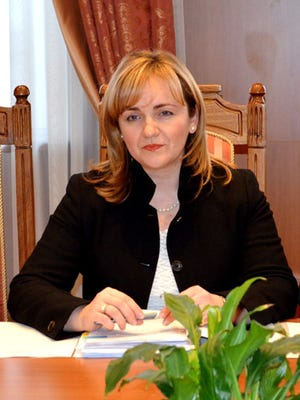 Moldovan Foreign Minister Natalia Gherman.