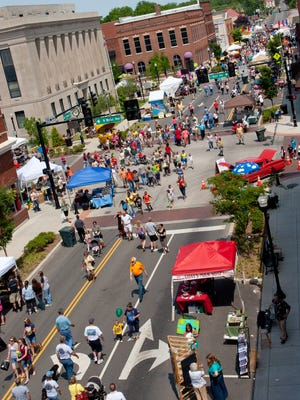 More than 15,000 people are expected to attend the 15th annual Squarefest in downtown Gallatin on Saturday.