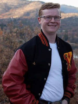 Caleb Cox of Yreka High. Submitted photo