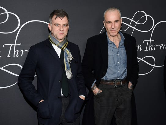 Writer/director Paul Thomas Anderson, left, and Day-Lewis, who are collaborating for a second time after 2007's 'There Will Be Blood.'