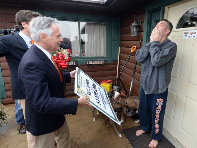 Dad's Prize Patrol dreams drain family savings