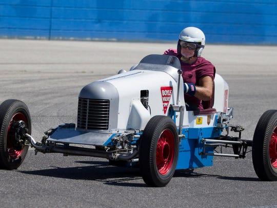 Classic racers take to the Milwaukee Mile at State Fair Park this weekend as part of the Millers at Milwaukee Vintage Indy Car Event.