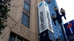 Twitter headquarters on Market street between 9th and